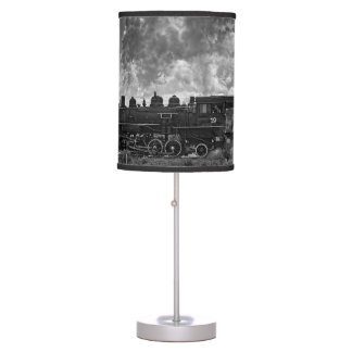 STEAM TRAIN TABLE LAMP