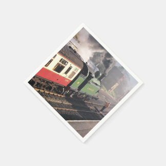 STEAM TRAINS DISPOSABLE NAPKIN