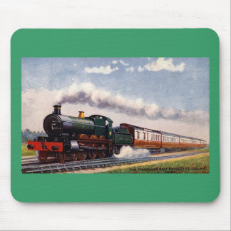 Steam Trains In Ireland Mouse Pad