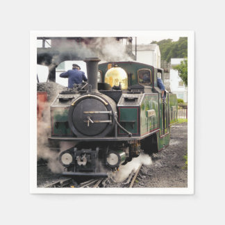 STEAM TRAINS NAPKIN