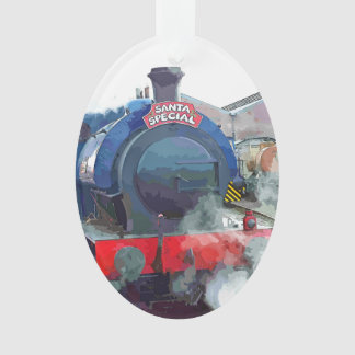 STEAM TRAINS ORNAMENT
