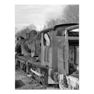 STEAM TRAINS PHOTO PRINT