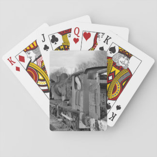 STEAM TRAINS PLAYING CARDS