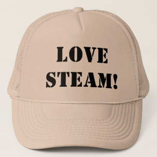 STEAM TRAINS TRUCKER HAT
