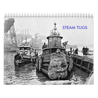 Steam Tugs Wall Calendar