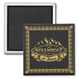Steamboat 50th Anniversary Emblem Magnet