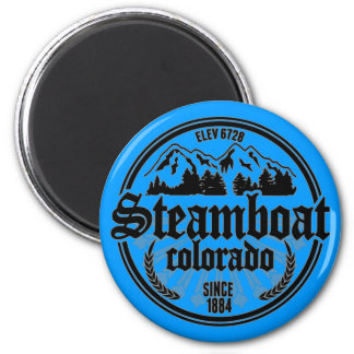 Steamboat Black Radial Magnet