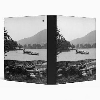 Steamboat graveyard Lake George New York Binders