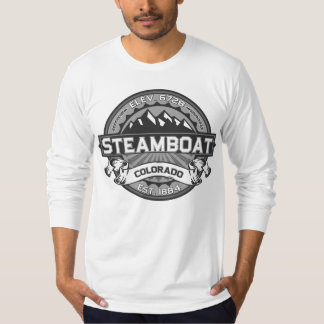 Steamboat Logo Gray T-Shirt