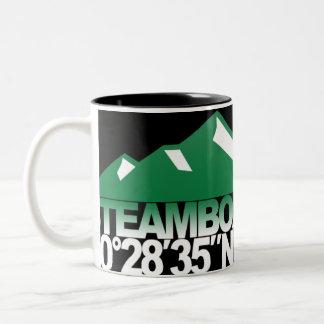 Steamboat Mountain GPS Green Mug