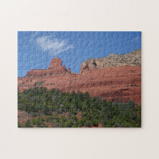Steamboat Rock in Sedona Arizona Photography Jigsaw Puzzle