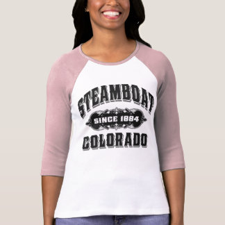 Steamboat Since 1884 Black T-Shirt