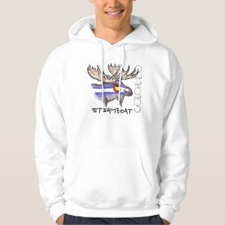 Steamboat Springs Colorado elk hoodie