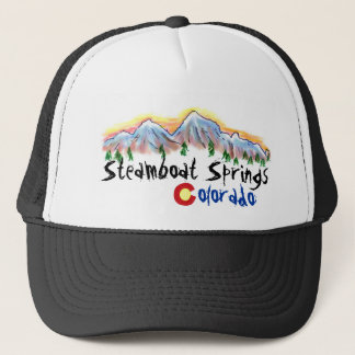Steamboat Springs Colorado hat