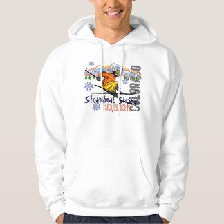 Steamboat Springs ski elevation hoodie