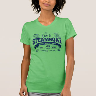 Steamboat Vintage Blue T-Shirt