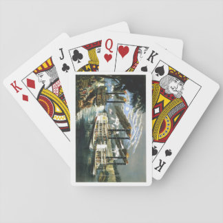Steamboats on the Mississippi Playing Cards