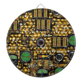 SteamControl - Brass Dartboard With Darts