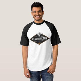Steamcrunk Vintage Baseball T-shirt