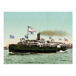 "Steamer ""City of Erie"" 1900 Postcard"
