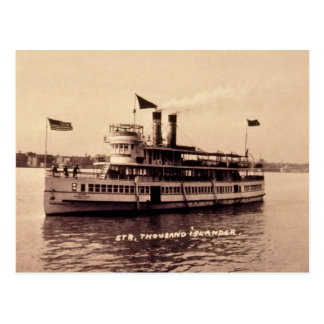Steamer Thousand Islander Postcard