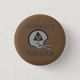 Steamers 1 Inch Round Button