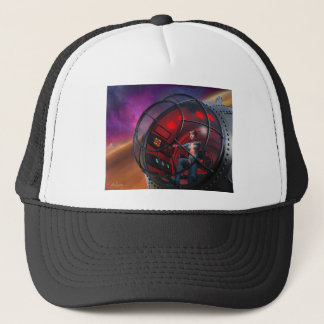 Steamfish Pilot Trucker Hat