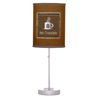 Steaming Mug Of Hot Chocolate Table Lamps