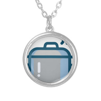 Steaming Pot Silver Plated Necklace