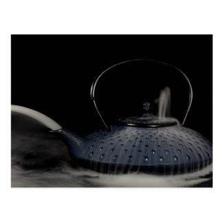 Steaming Tea Pot Postcard
