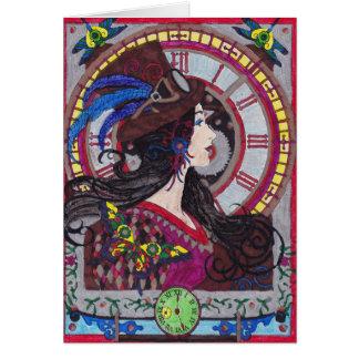 Steampunk 10 Card - Personalize