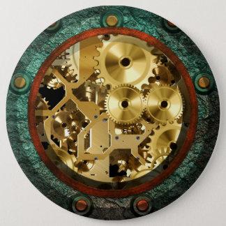 Steampunk 1B Button