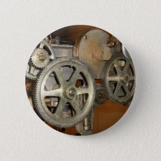 Steampunk 2 Inch Round Button