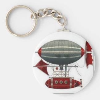Steampunk Airship Keychain