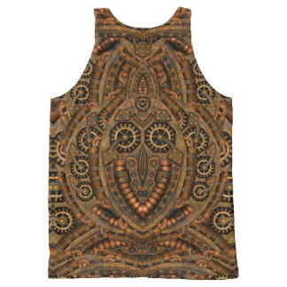 Steampunk All-Over-Print Tank Top