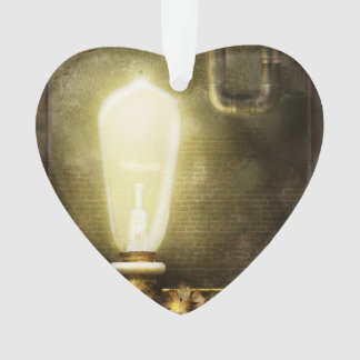 Steampunk - Alphabet - L is for Light Bulb Ornament