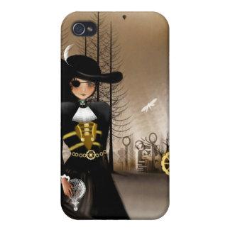 Steampunk Art iPhone Case Airship Pirate