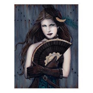 Steampunk Assassin Postcard