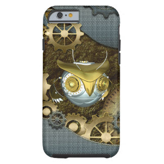 Steampunk, awesome   mechanical owl tough iPhone 6 case