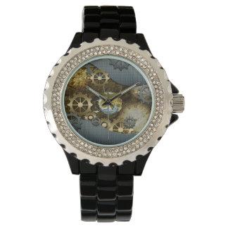 Steampunk, awesome   mechanical owl watch