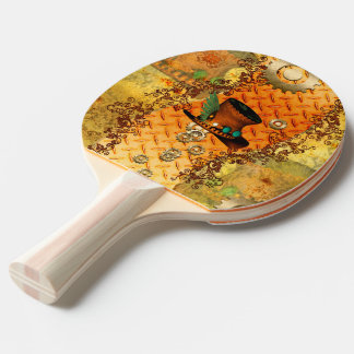 Steampunk, awesome steam hat Ping-Pong paddle