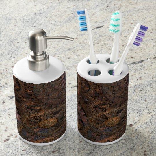Steampunk Bathroom Accessories Toothbrush Holder