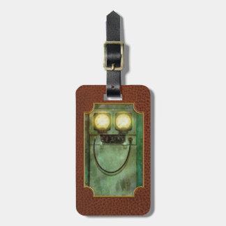 Steampunk - Be Happy Luggage Tag