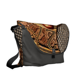 Steampunk, beautiful steam women with clocks commuter bags