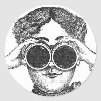 Steampunk Binoculars Sticker