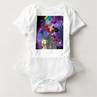 Steampunk Bird Baby Bodysuit