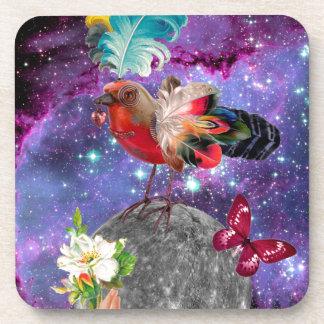 Steampunk Bird Coaster
