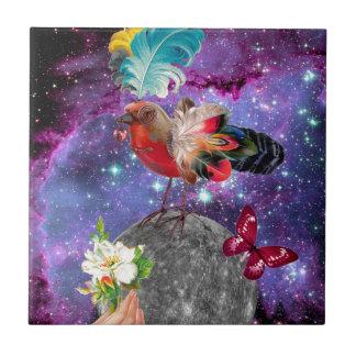 Steampunk Bird Tile