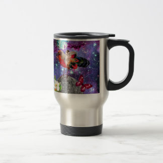 Steampunk Bird Travel Mug