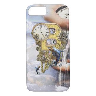 Steampunk Birthday letter B iPhone 8/7 Case